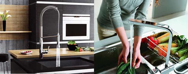Como escolher torneira pra cozinha e pro banheiro?